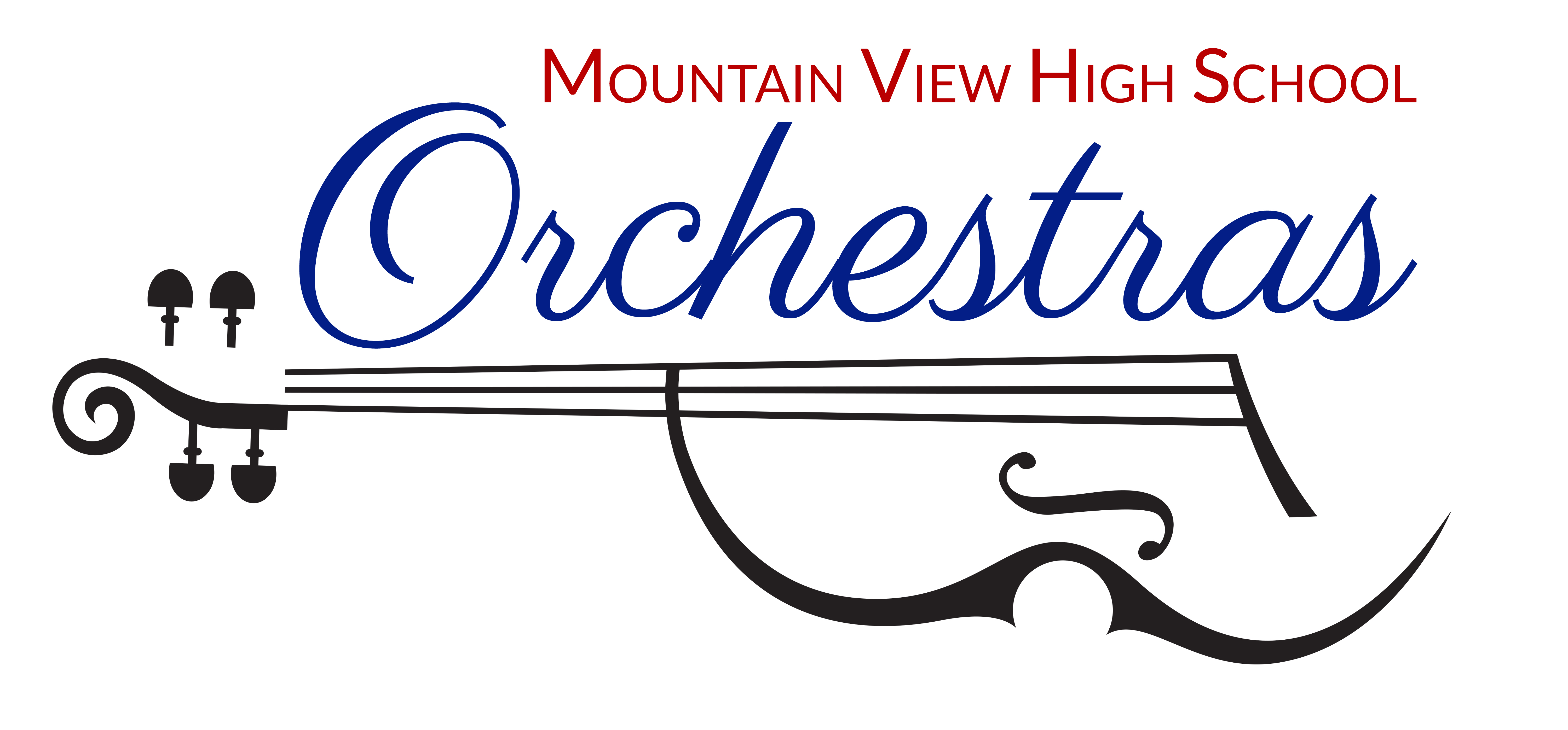 Logo for Mountain View High School Orchestras